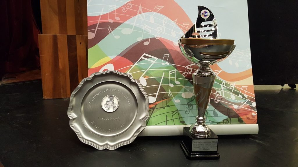 Eerste prijs met 88 punten in de tweede divisie, met recht op promotie